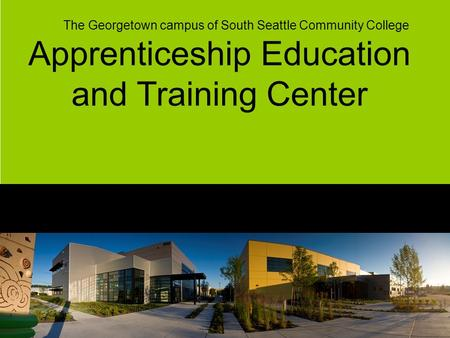 Apprenticeship Education and Training Center