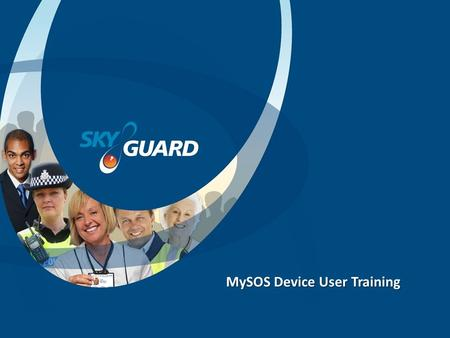 MySOS Device User Training