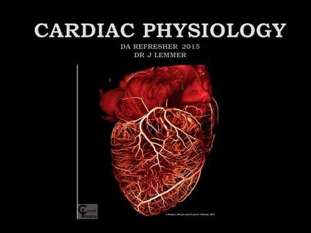  Anatomy  Coronary perfusion  Myocardial oxygen balance  Electrophysiology  Cardiac cycle and PV loops  Cardiac output  Intracardiac pressures.