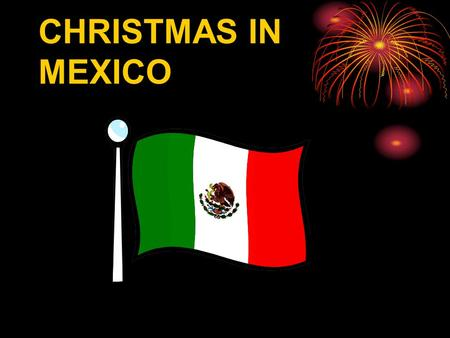 CHRISTMAS IN MEXICO The emblem-shield  symbolizes the Aztec heritage. According to a beautiful legend, the gods had advised the Aztecs that the place where.