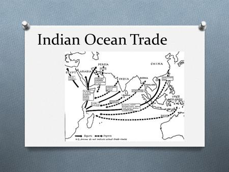 describe the impacts of the indian ocean trade system