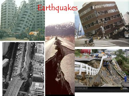 Earthquakes. What is an Earthquake? It is a sudden movement called a tremor in the Earth's Crust. It is caused by the release of pressure which causes.