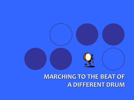 MARCHING TO THE BEAT OF A DIFFERENT DRUM. Two States Experience Using the CHIPRA Quality Grant and ABCD To Test and Evaluate Promising Ideas To Improve.