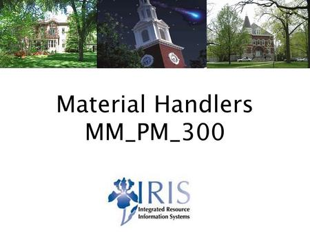 MM_HI_300 Materials Handlers v31 Material Handlers MM_PM_300.