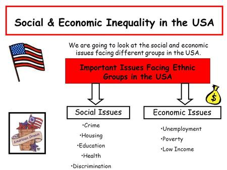Social income inequality