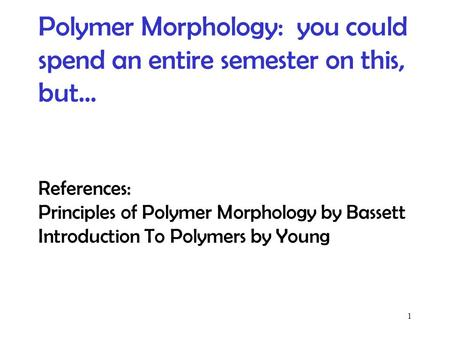 Addition polymer