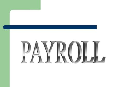 Payroll Department An Extension of the Accounting Dept.  The staff is located in the Professional Bldg. (MFI) Suite 400  Supervisor  Katina Gatlin.