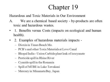 professional ethics and toxic waste essay Toxic waste essay custom student mr dennis smalley was a certified professional who falsified his documents to the ohio epa so professional ethics and toxic.