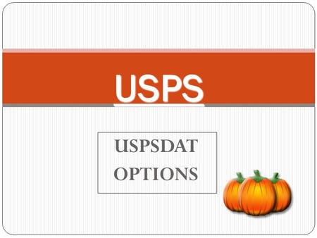 USPSDATOPTIONS USPS. USPCON: Configuration Data Maintenance Maintains district data for the payroll set-up information, identification numbers, period.