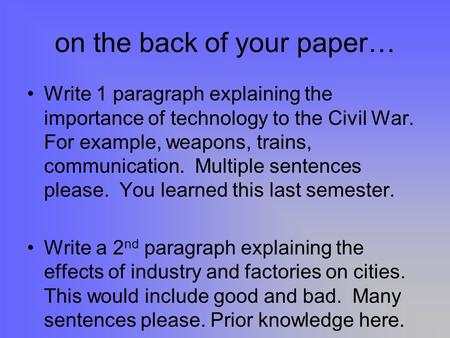 Lack of communication essay