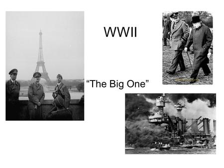 "WWII ""The Big One"". Japan Invades _____________ As a result of depression in Japan, _________________ ____________________ who promote absolute powers."