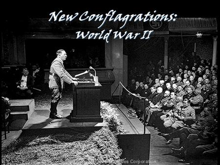 1 New Conflagrations: World War II. 2 Any alliance whose purpose is not the intention to wage war is senseless and useless. As a Christian I have no duty.