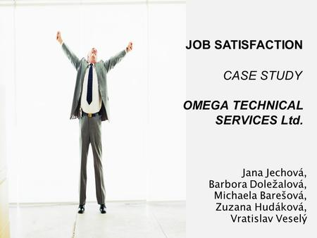 attitude and job satisfaction case study