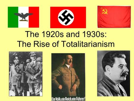 fascism in the 1920s and 1930s essay In the 1920s and 1930s communism and fascism looked like the coming things:  when spain temporarily restored its parliamentary government in 1931, benito.