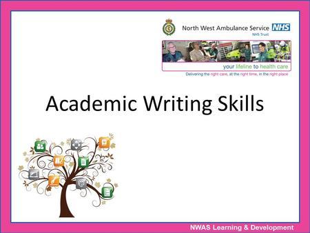 Academic Writing Skills: K-12?