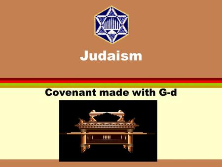 Judaism Covenant made with G-d Jewish History Before and After the destruction of the Second Temple.