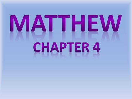 Matthew 4:1 NASU Then Jesus was led up by the Spirit into the wilderness to be tempted by the devil.