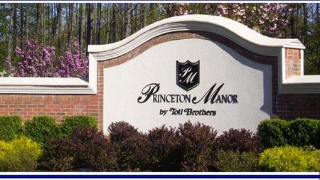 The Princeton Manor Website Access – For New and Existing Users Use – Organization of the website Content – Features, Fun and Useful Information.