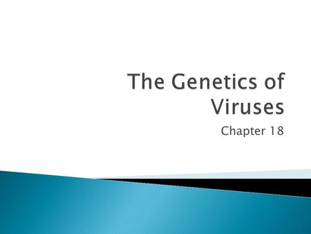"Chapter 18.  1796 – Edward Jenner developed the smallpox vaccine  1897 – Beijerinck coined the term ""virus"" meaning poison  1935 – Wendell Stanley."