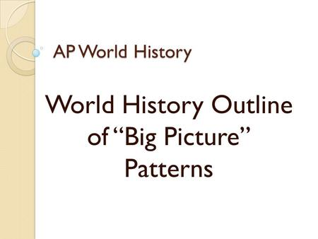 ap world assignment Document directory database online ghchs ap world history summer assignment answers ghchs ap world history summer assignment answers .