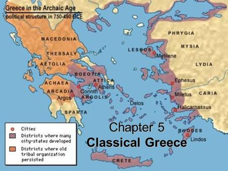 Chapter 5 Classical Greece