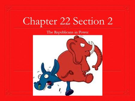 Chapter 22 Section 2 The Republicans in Power. Election of 1920  Democrats nominate James M. Cox (Ohio)  League of Nations  Republicans nominate Warren.