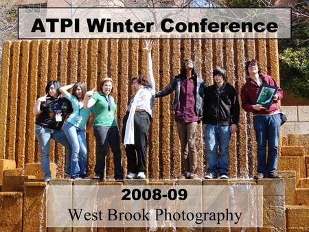 ATPI Winter Conference 2008-09 West Brook Photography.