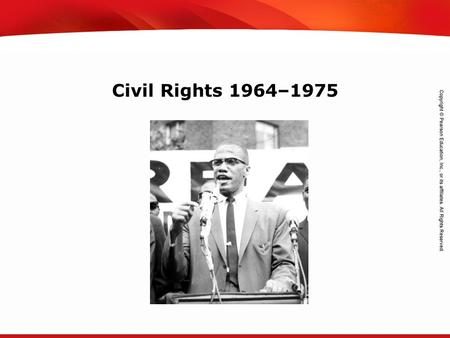 TEKS 8C: Calculate percent composition and empirical and molecular formulas. Civil Rights 1964–1975.