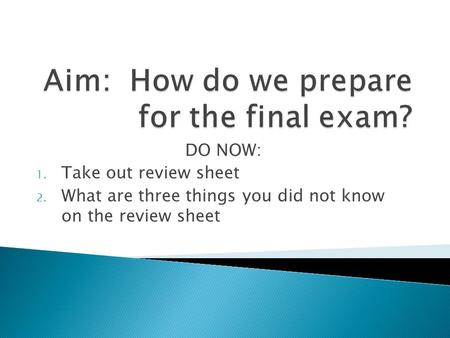 marketing final exam multiple choice Writing good multiple choice test questions by cynthia j brame, cft assistant director print version cite this guide: brame, c, (2013) writing good multiple choice.