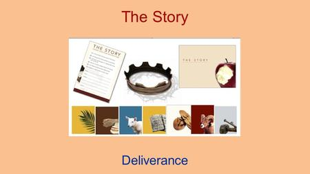 The Story Deliverance. 2 Why read the Bible? Because it tells us an alternative Story If you want to change a society, then you have to tell an alternative.