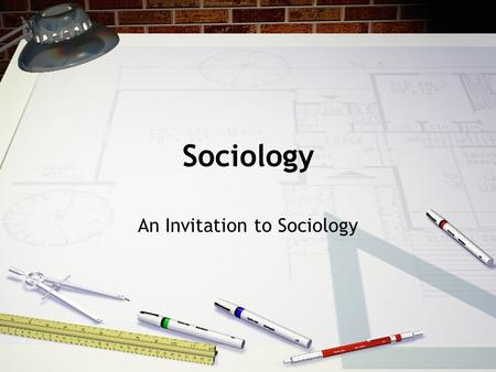 Sociology An Invitation to Sociology. The Sociological Perspective Perspective - particular point of view –Example- your baby is cuter, brighter, etc.
