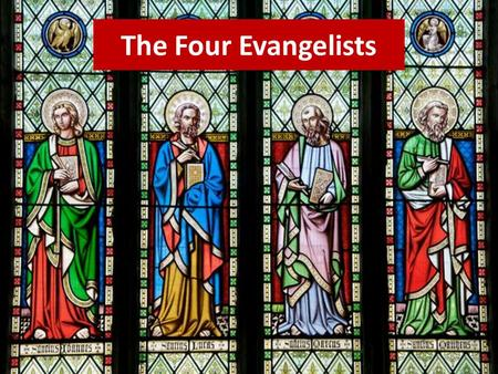 The Four Evangelists. MATTHEW Saint Matthew was Jewish, like Jesus, but he worked for the Roman government as a tax collector. That made him very unpopular.