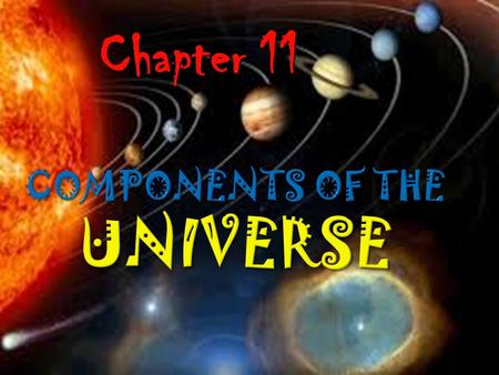 Chapter 11. 11.2 The Sun and the Planetary System Our solar system is full of planets, moon, asteroids, and comets, all in motion around the Sun. Most.
