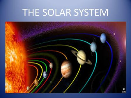 THE SOLAR SYSTEM. In our Solar System eight planets orbit around The Sun Mercury, Venus, Earth, Mars, Jupiter, Saturn, Uranus and Neptune The Sun is in.