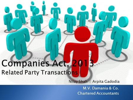 M.V. Damania & Co. Chartered Accountants Nilay Shah || Arpita Gadodia.