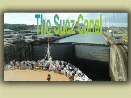 What is the Suez Canal? A ship canal, about 166 km (103 miles) long, traversing the Isthmus of Suez and linking the Red Sea and the Gulf of Suez with.