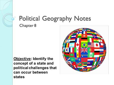 Political Geography Notes