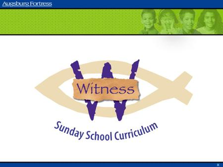 Welcome to Witness! Overview of Witness Structure of Witness Components of Witness Planning and Preparation Enrichments.