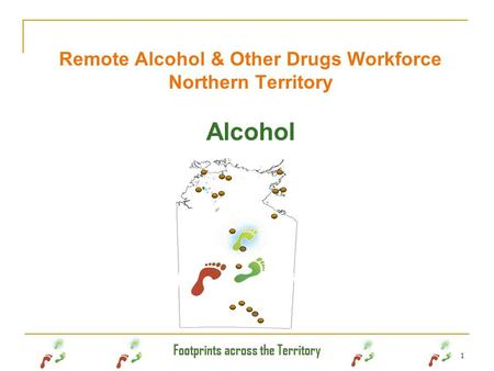 Remote Alcohol & Other Drugs Workforce Northern Territory Alcohol