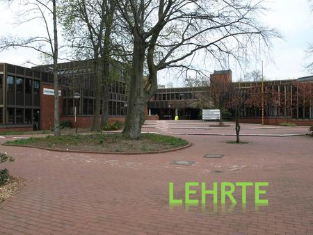 . Lehrte is a town in the discrict of Hannover, in Lower Saxony, Germany. It is situated approximately 17 km east of Hannover. Lehrte is a town with a.