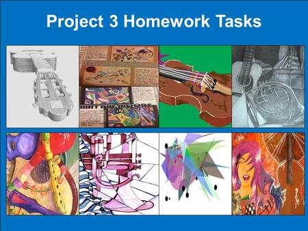 Project 3 Homework Tasks