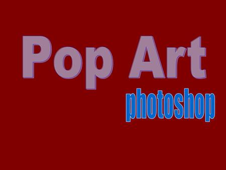 Pop art is an art movement that emerged in the mid-1950s in Britain. Pop art challenged the traditions of fine art by including imagery from popular culture.