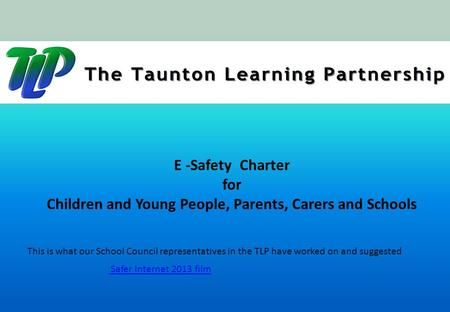 Children and Young People, Parents, Carers and Schools