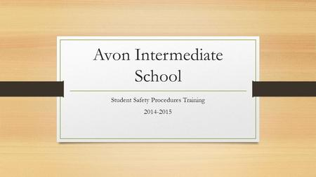 Avon Intermediate School
