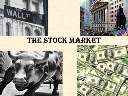 The Stock Market. Shares A portion of a stock—aka. Equities (claims of ownership in corporations) Purpose: Corps. Raise $ to start, run and expand.