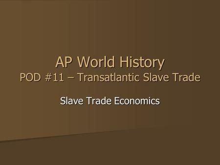 ap world history ch 18 21