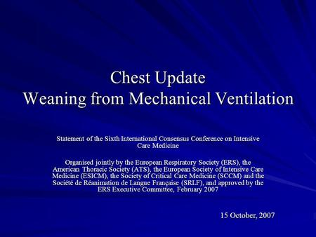 weaning from mechanical ventilation guidelines pdf