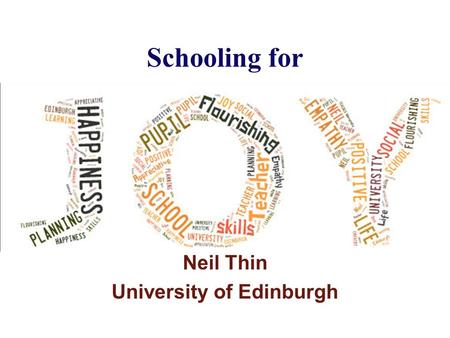 University of Edinburgh Questions?