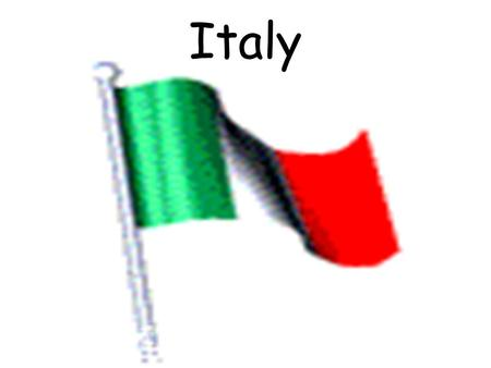 Italy. Climate & Geography Culture Economy Religion Cuisine –Protein –Fruits & Vegetables –Grains.