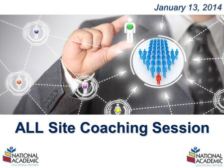 YOUR LOGO January 13, 2014 ALL Site Coaching Session.